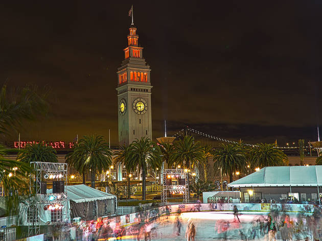 Embarcadero Center Holiday Ice Rink