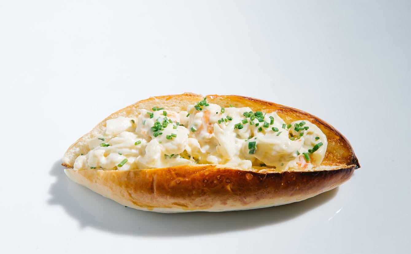 Clifford Pier lobster roll