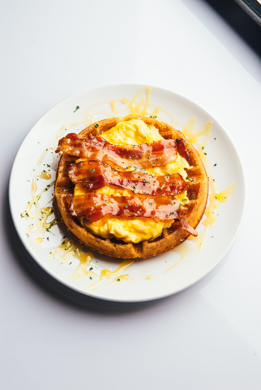 Sundried Tomato & Herb Waffle