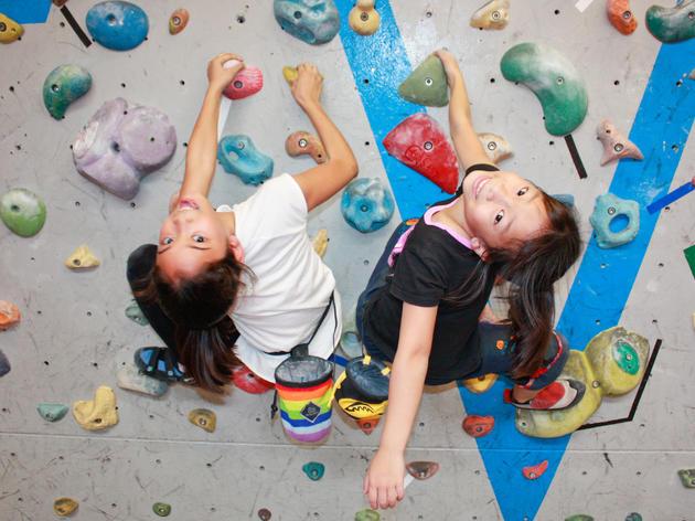 Kids fun climb at Climb Asia