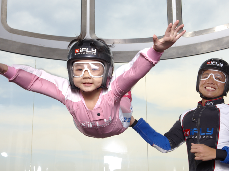 Skydive indoors at iFly