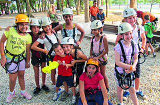 Kids Course at Forest Adventure