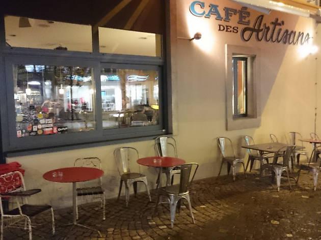 Cafe des Artisans, Lausanne cafe, Time Out Switzerland