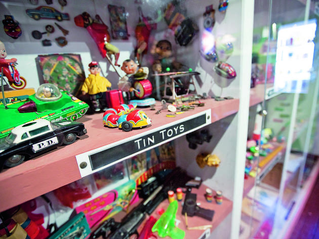 Check out vintage toys and figurines at MINT Museum of Toys
