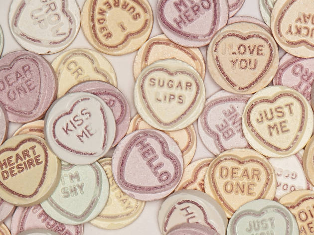 Love Hearts, Valentine's Day