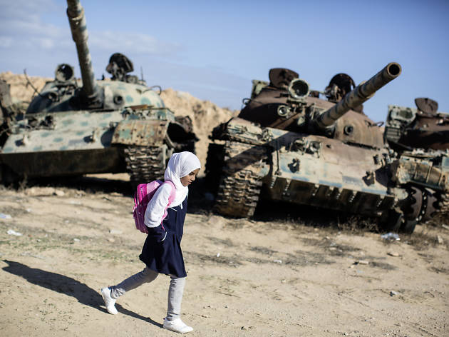 The journeys to school: Nawal in Libya