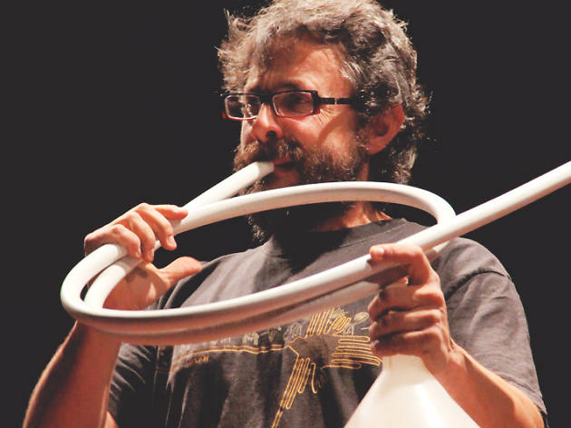 Artte para niños: Xavi Lozano. Tubos del mundo