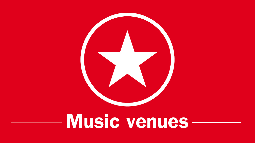 TOLNYA 2014, categories, Music venues