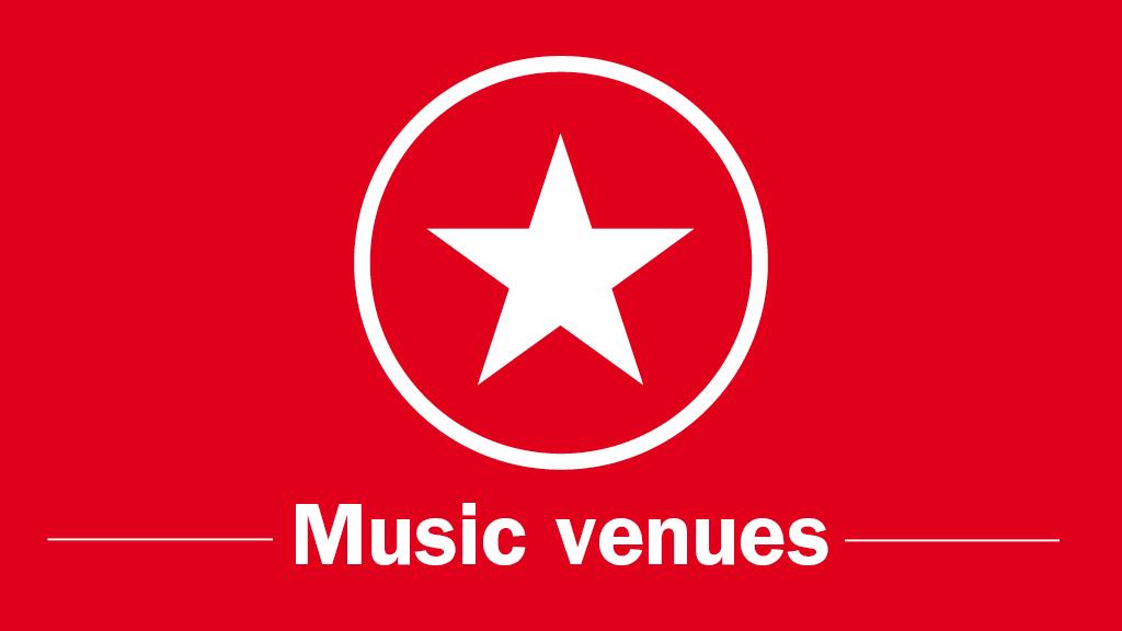 TOLNYA 2014, categories, Music venues