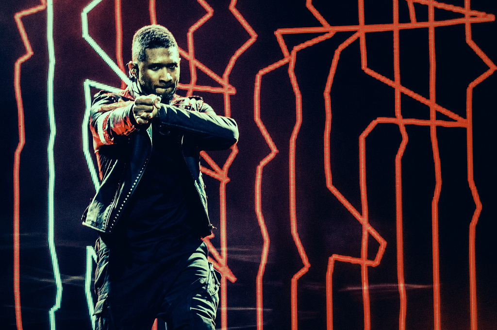 Usher at United Center