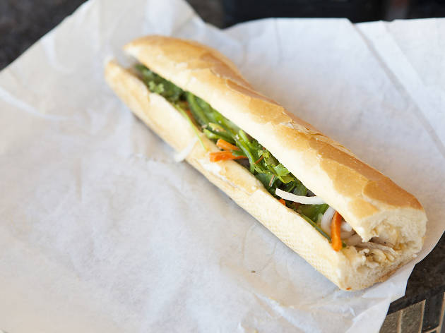 Banh mi at Saigon's Sandwiches & Bakery