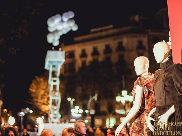 The Shopping Night Barcelona 2014