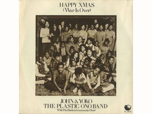 """Happy Xmas (War Is Over)"" by John Lennon and Yoko Ono"