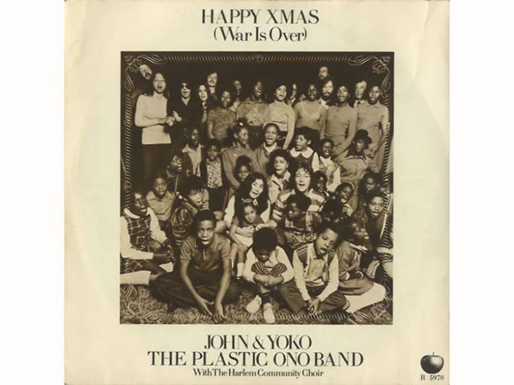 """""""Happy Xmas (War Is Over)"""" by John Lennon and Yoko Ono"""