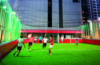 Futsal pitches