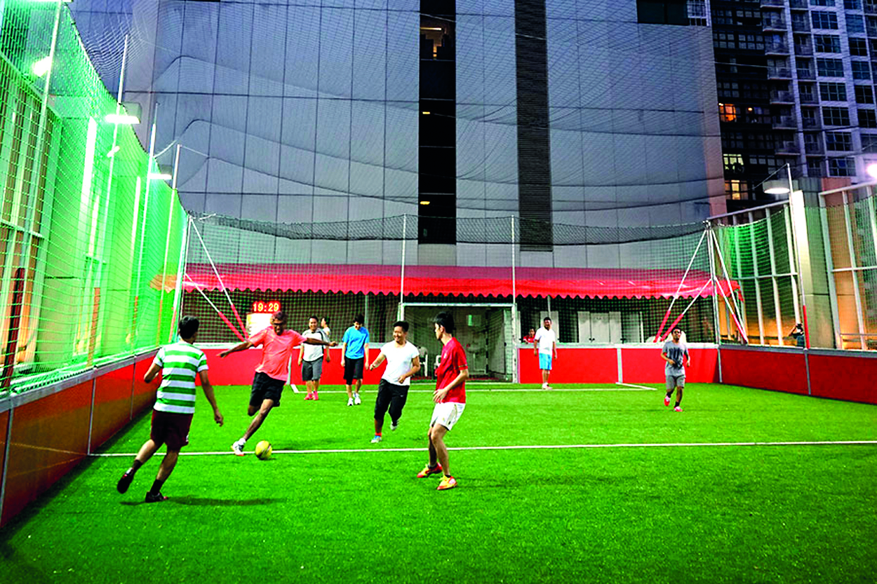Singapore's top three futsal pitches