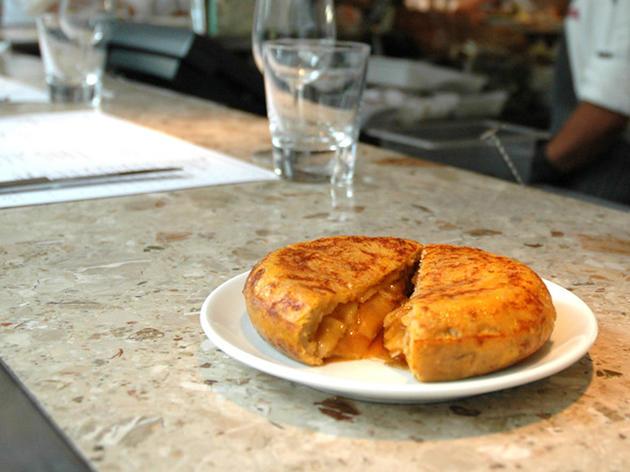 Classic tortilla at Barrafina