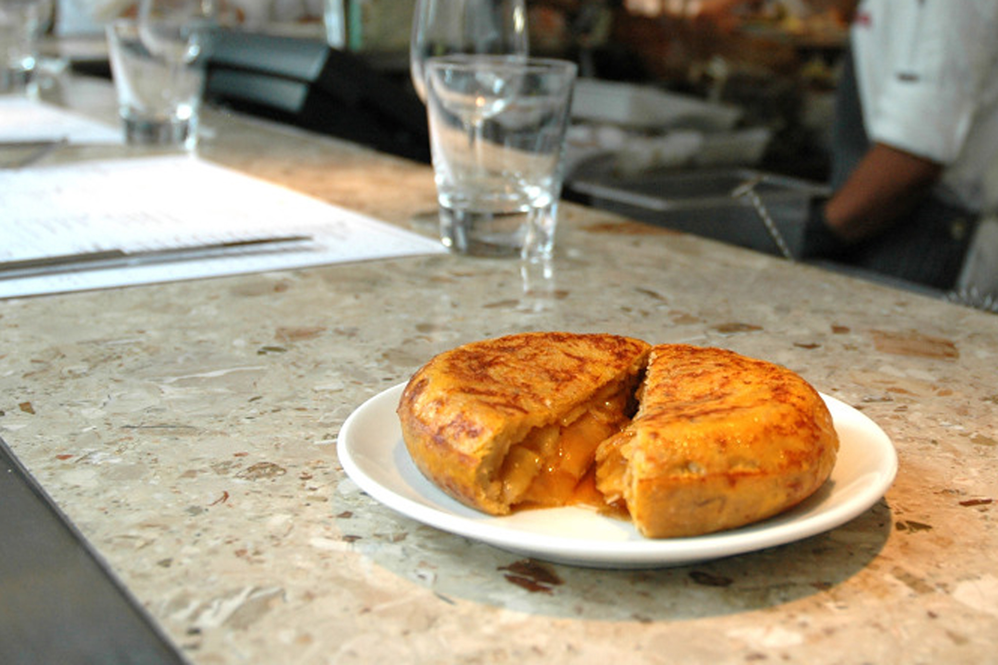 Classic tortilla at Barrafina