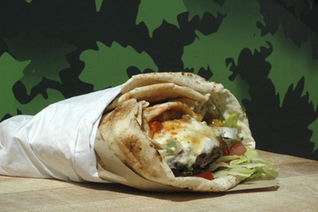 Crazy lamb jalfrezi burger at Bhangra Burger at Kerb