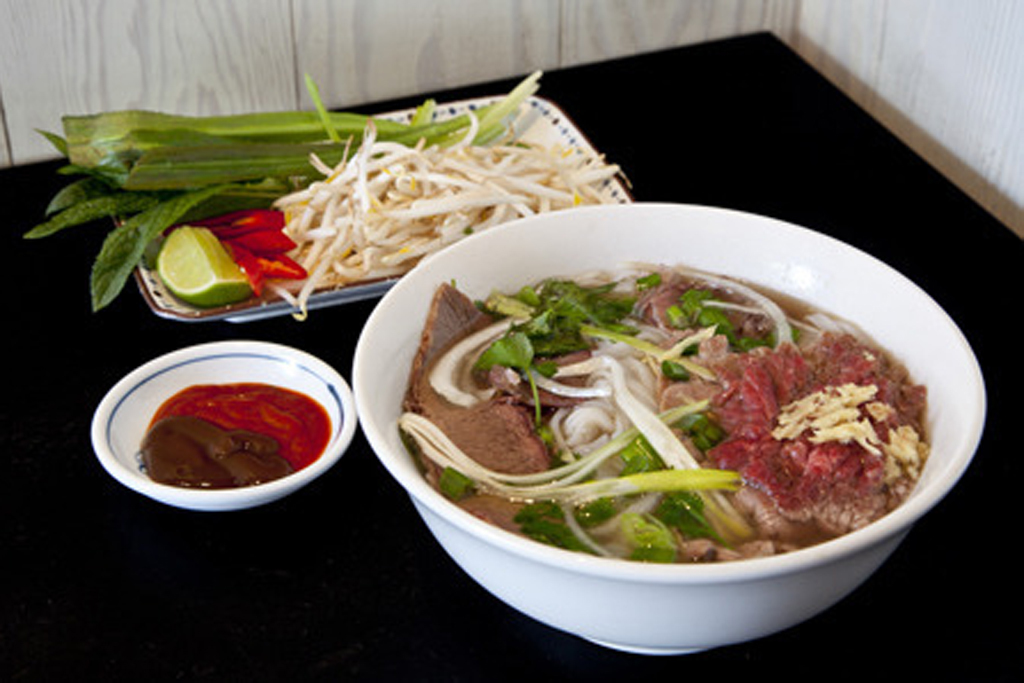 Beef pho at Cay Tre