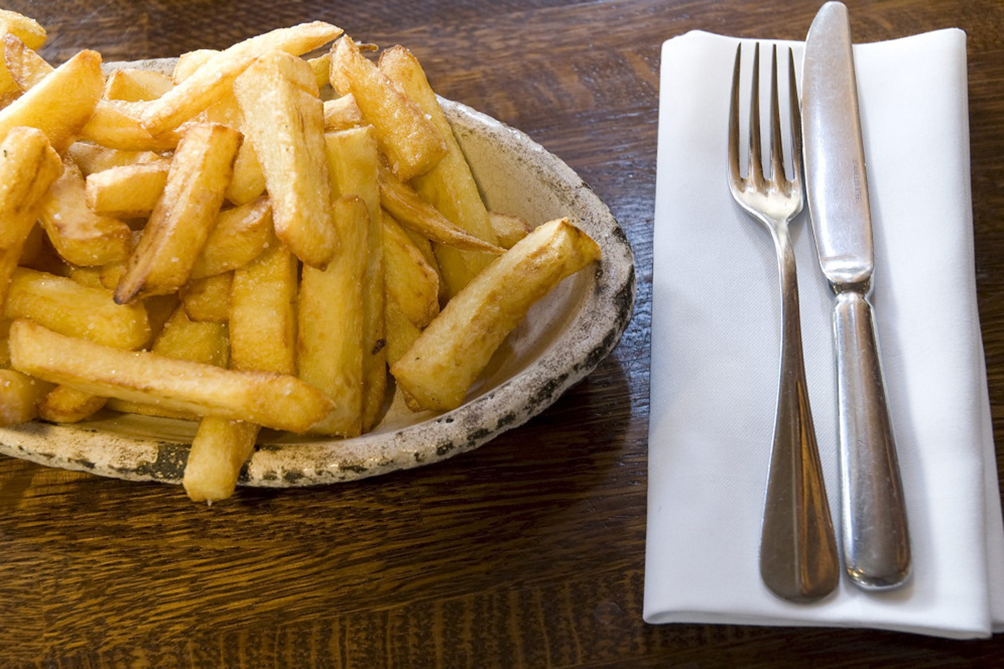 Chips at Comptoir Gascon