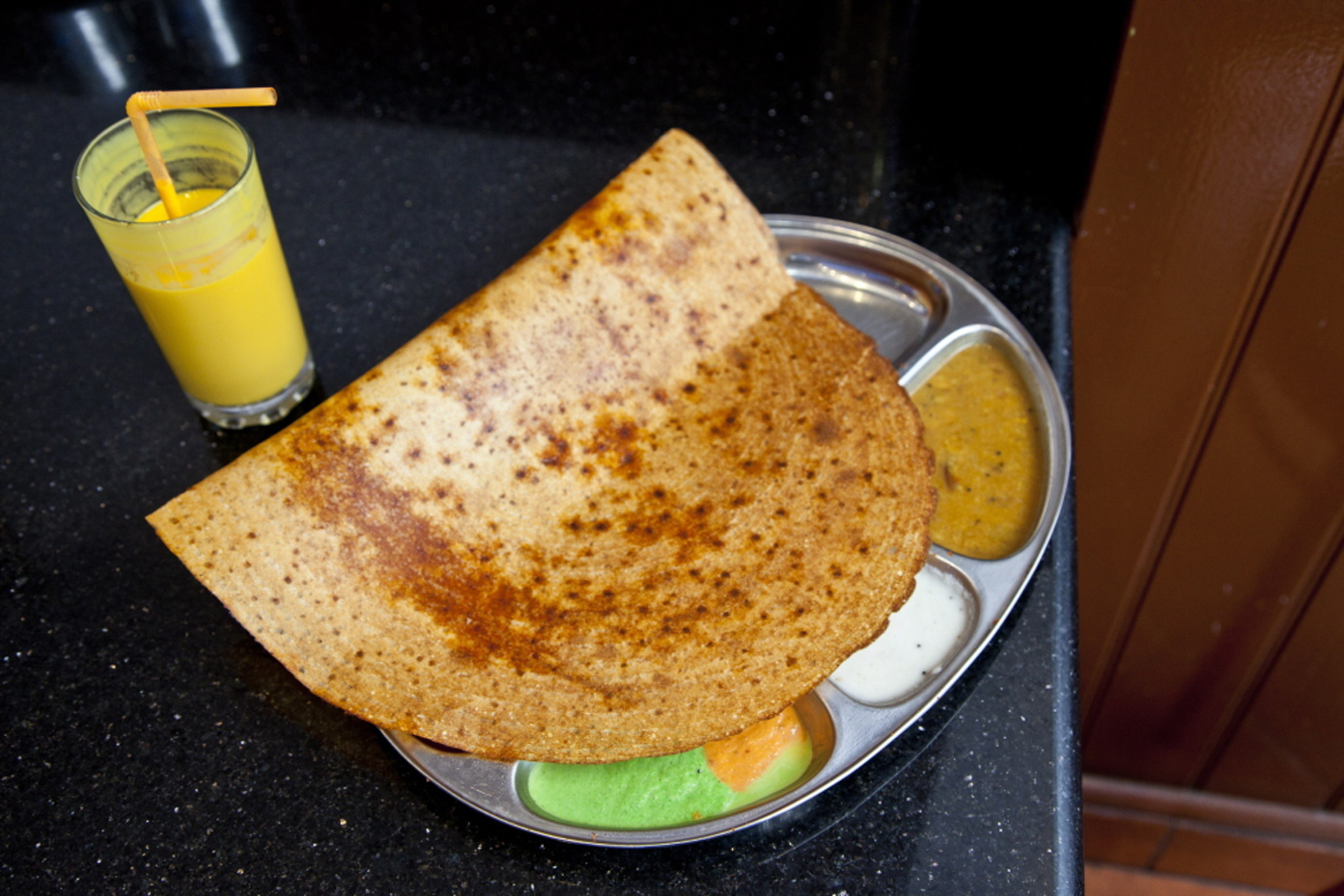 100 best dishes in London - dosa n chutny - dosa