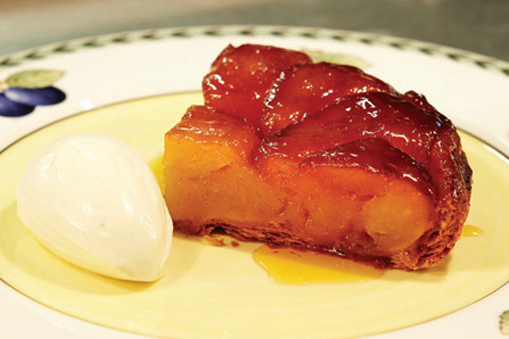 Apple tarte tatin at Galvin Bistrot de Luxe