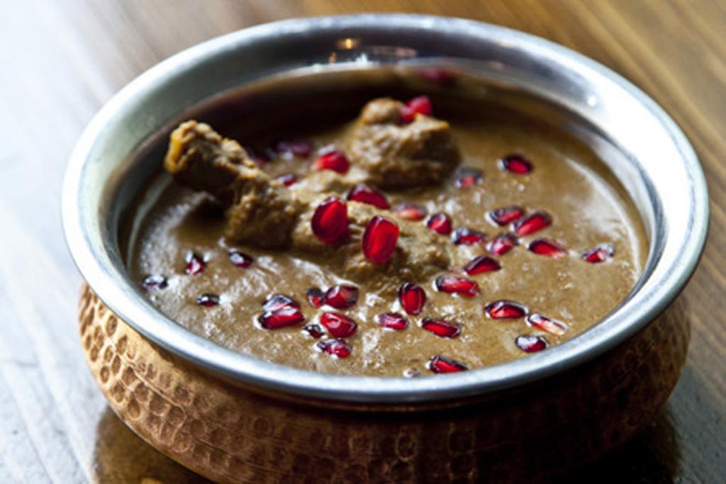 Persian fesenjân at Kateh