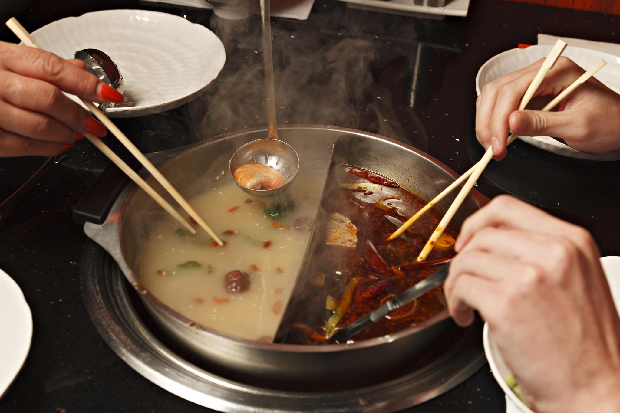 Mongolian hotpot at Mongolian Grill