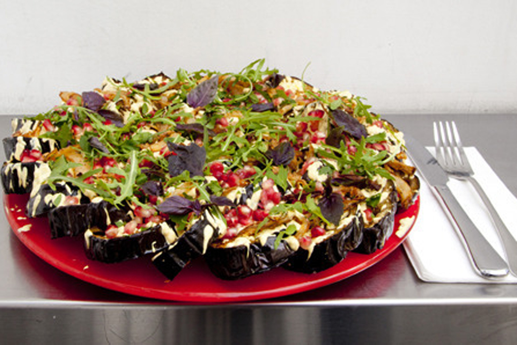 100 best dishes in London - Ottolenghi - roasted aubergine