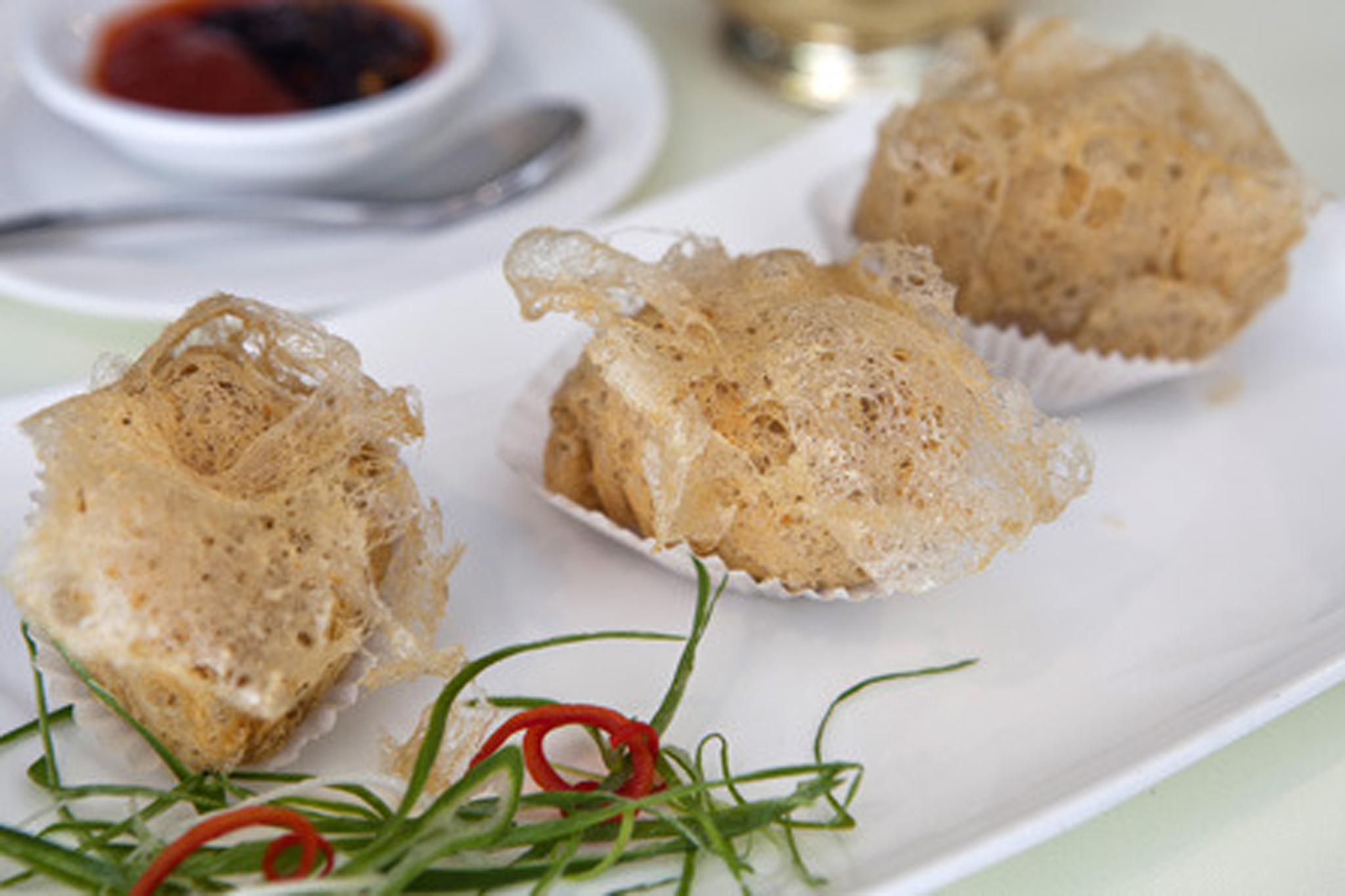100 best dishes in London - royal china - fried yam paste dumplings