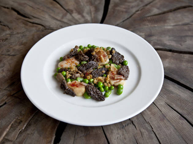100 best dishes in London - soif - ceps with bone marrow