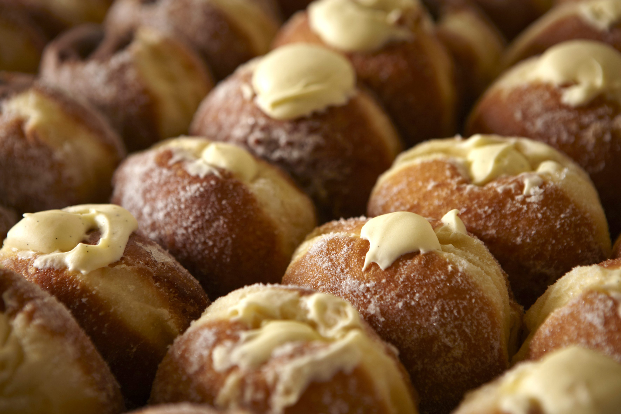 100 best dishes in London - st john bakery - custard doughnuts