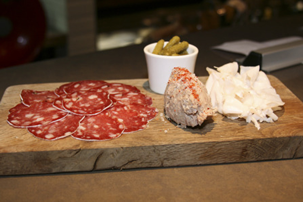 The charcuterie at Terroirs