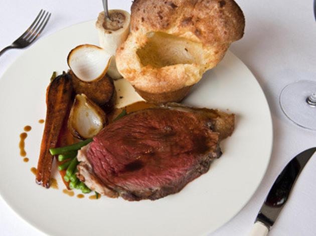 Sunday roast at Trinity