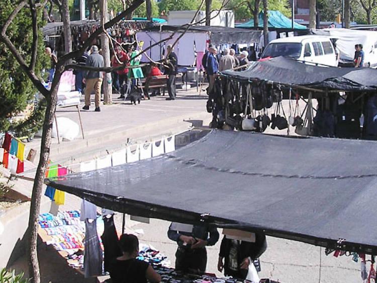 El mercat de Los Pajaritos sense ocellets?