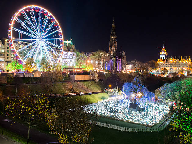 Edinburgh's Christmas - Big Wheel and Santa Land