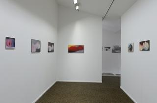 (Vue de l'exposition de Miriam Cahn / Photo : © Marc Domage)