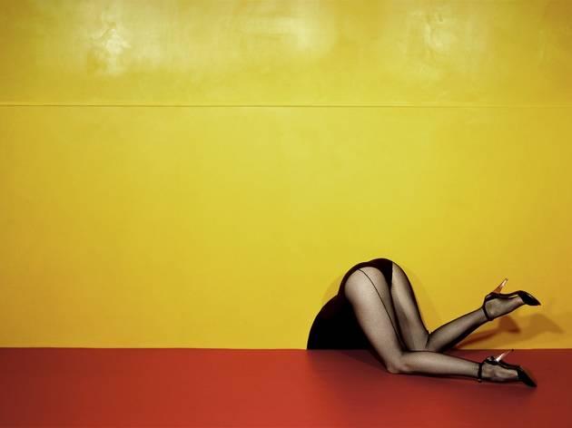 Guy Bourdin (Charles Jourdan, Spring, 1979)