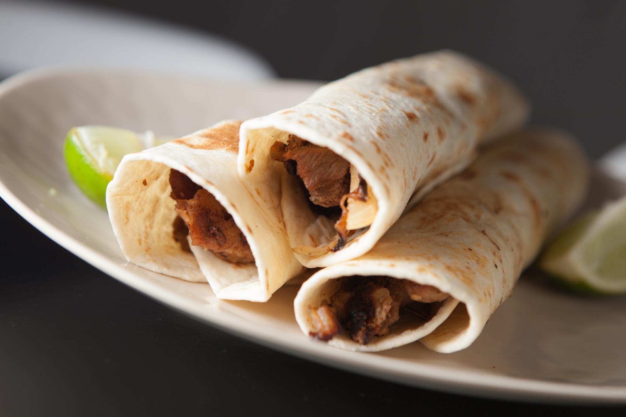 Taco arabe at Cemitas Puebla
