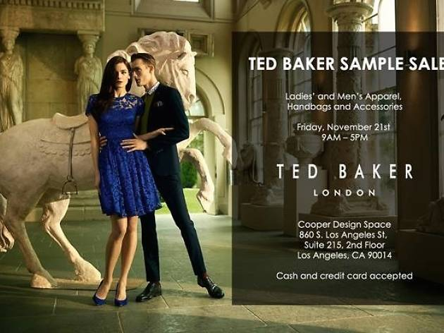 a25e97d77 Ted Baker London Sample Sale