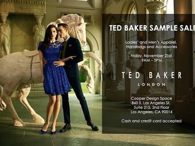 fedc99937007 Ted Baker London Sample Sale