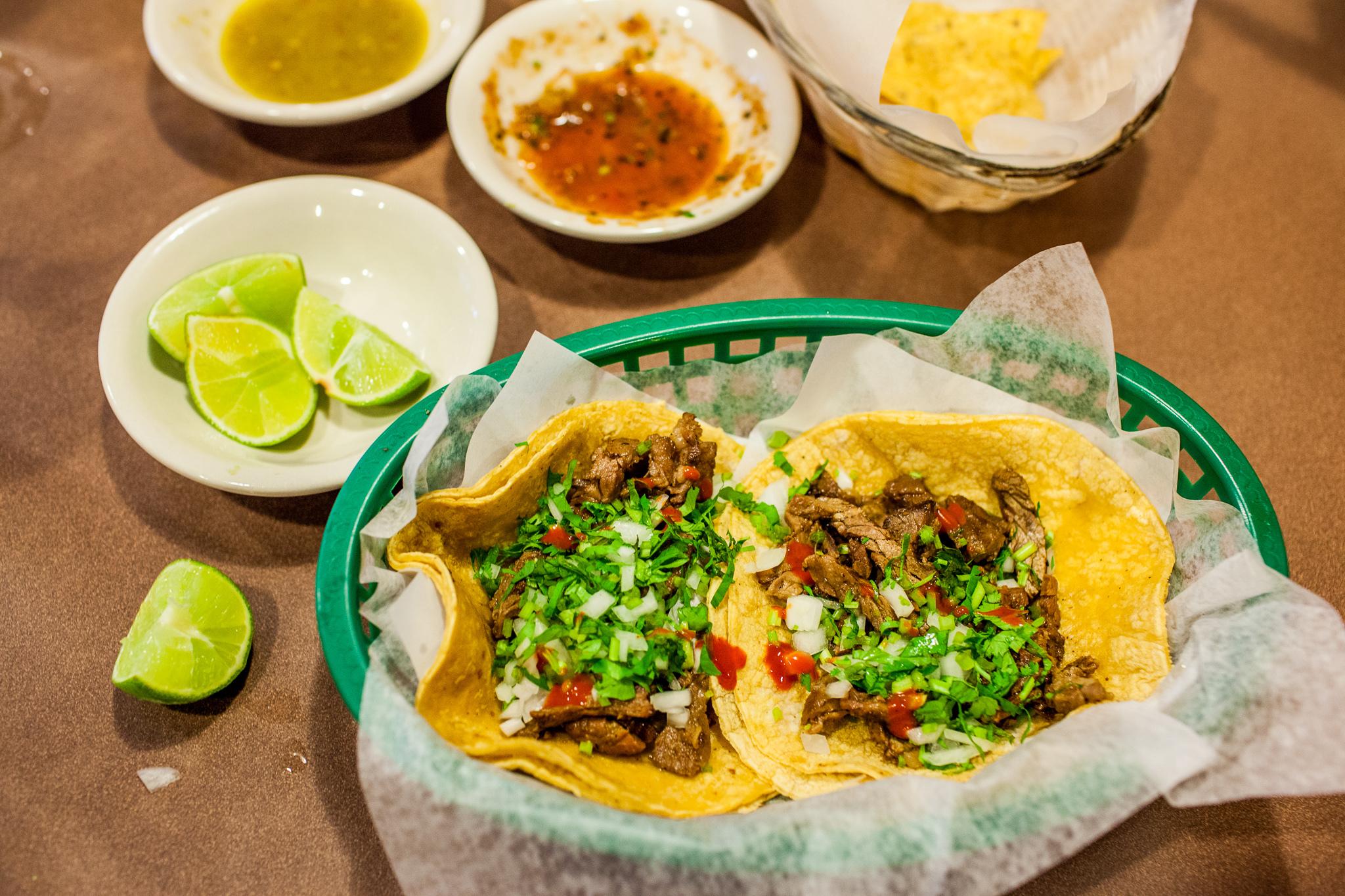 Carne asada at Tio Luis Tacos