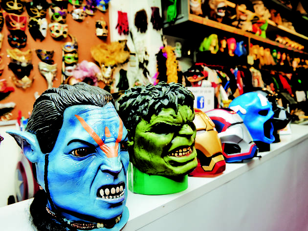 Best costume stores in Singapore