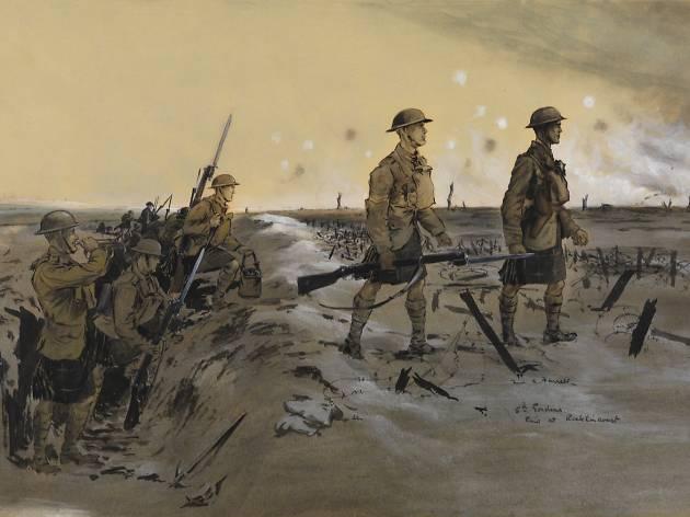 Fred A Farrell: Glasgow's War Artist