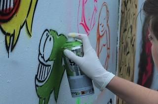 Alternative London Street Art Tour and Workshop