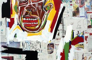 (Jean-Michel Basquiat, 'King of the Zulus', 1984-85 / ©Marseille, musée d'art contemporain / Photo : ©V. Ecochard / Adagp, Paris 2014)