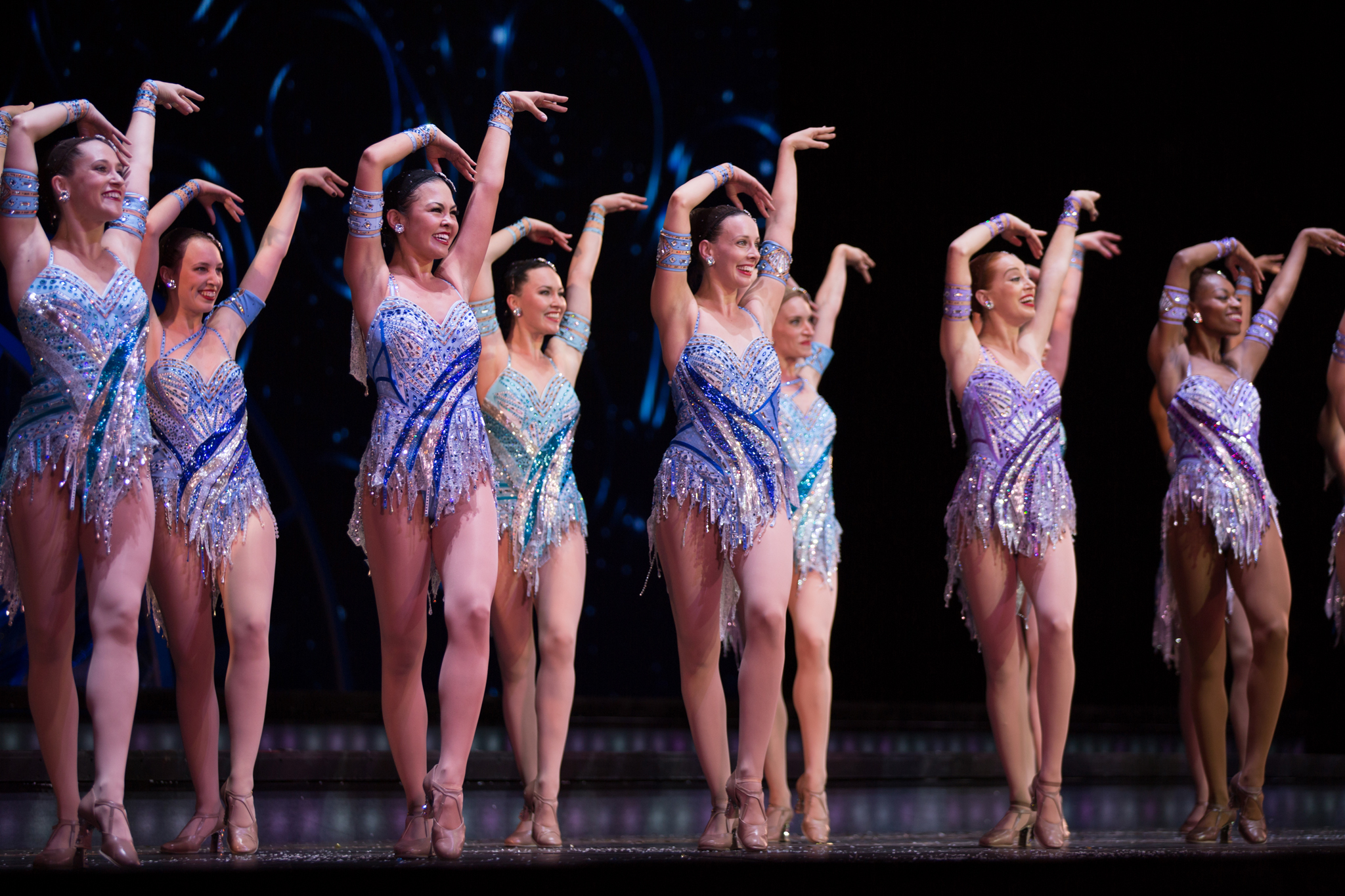 The Rockettes kick it up at Radio City