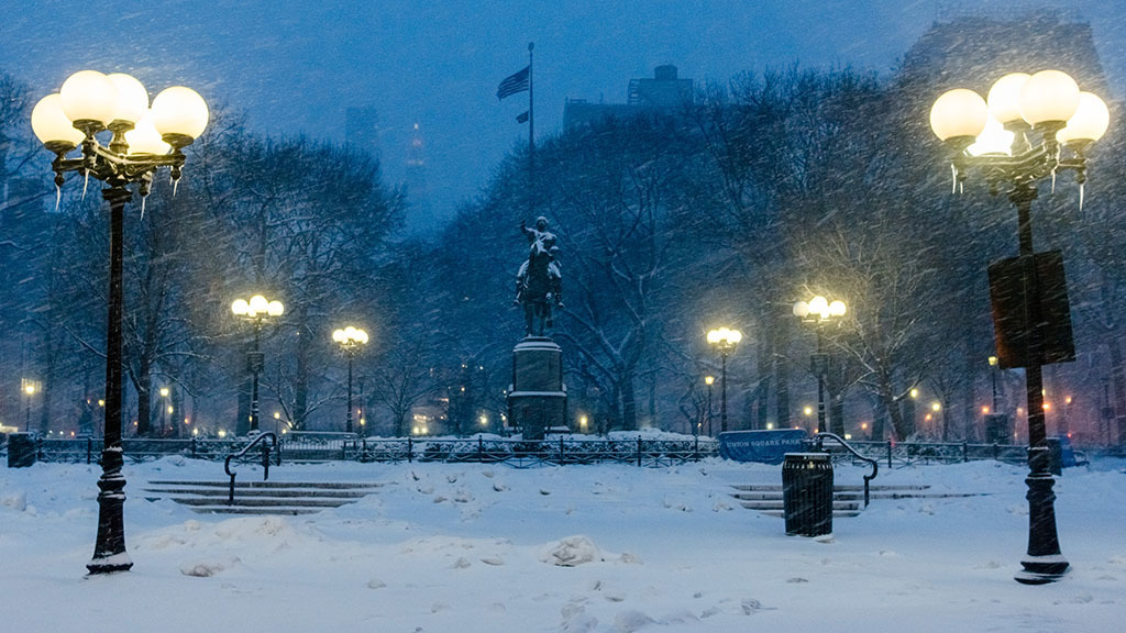The beautiful #BlizzardOf2015, in photos