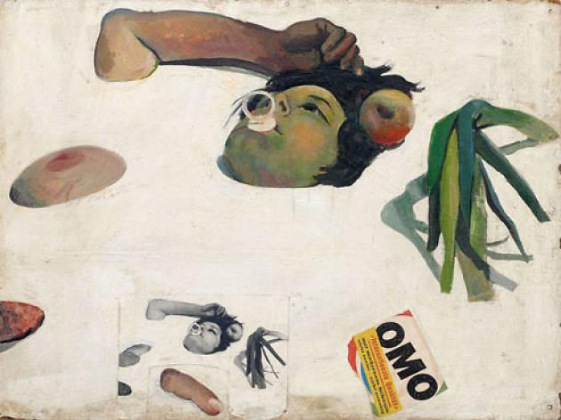 Otto Muehl, Material Action no. 26, Nahrungsmitteltest (Food Test)1966